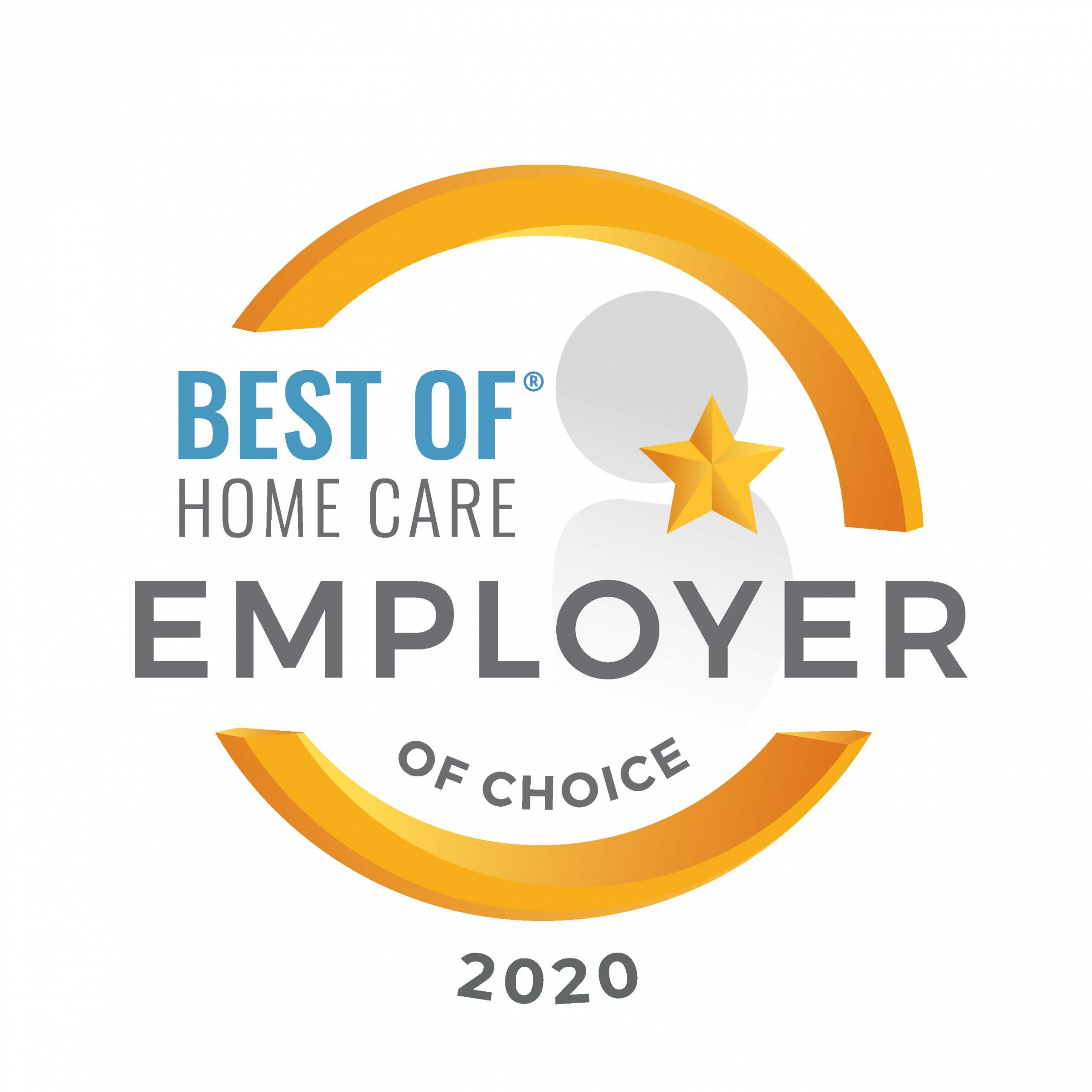 Best of Home Care Employer of Choice 2020 Award