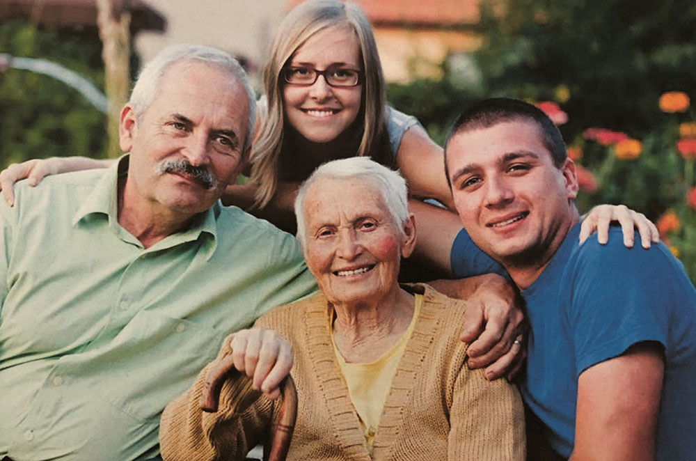 Family of Senior Home Care Patient