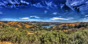 Reservoir in Lafayette, California. home care lafayette