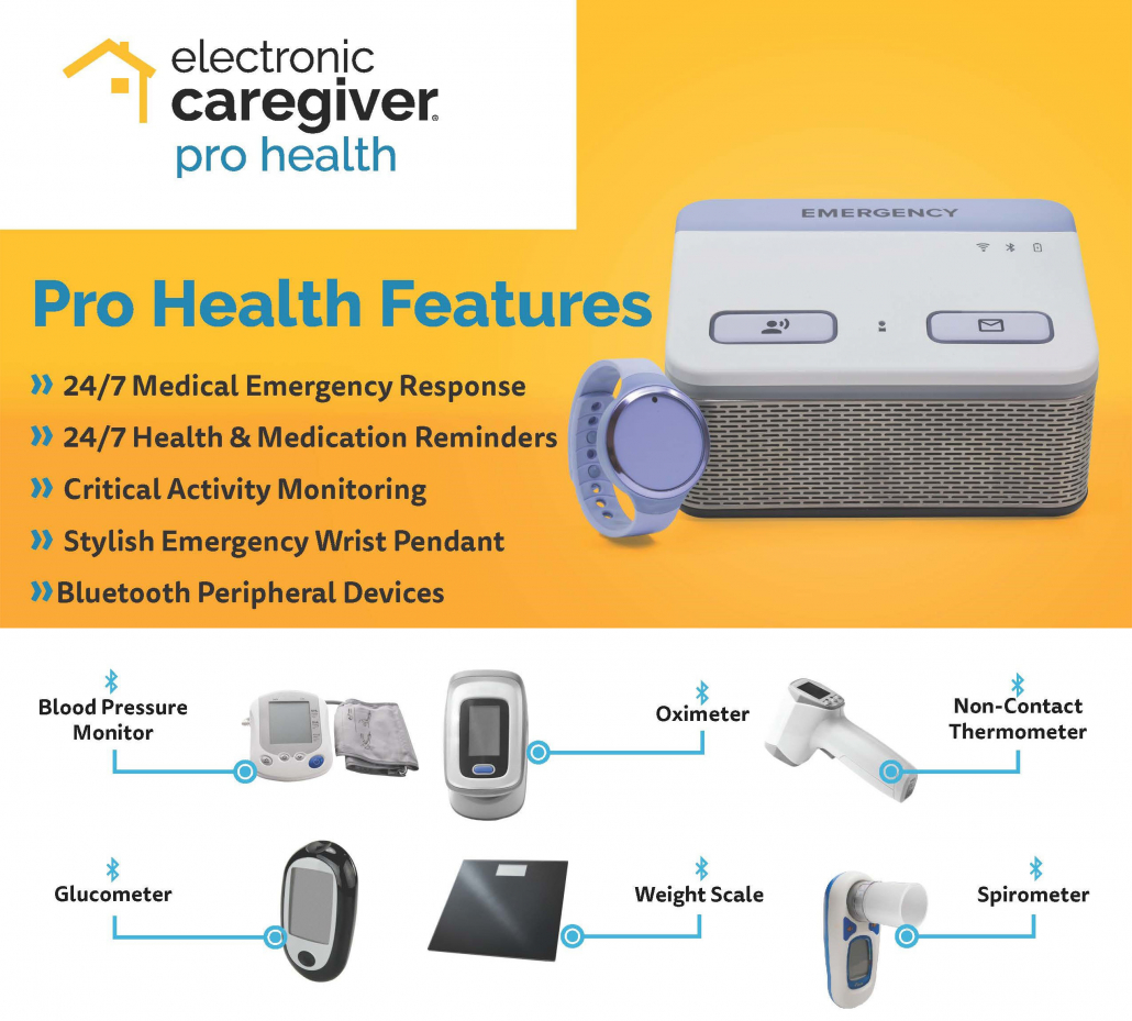 Pro Health features and products