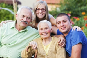 happy generational family - social activities for seniors - eldercare walnut creek ca