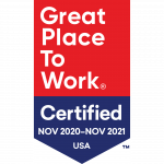 Great Place To Work 2021 Award