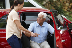 Alzheimers Disease can lead to needing accompanied transportation services
